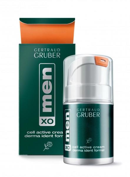 menXO cell activ cream derma ident formel